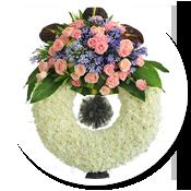 Icon hoa tang lễ