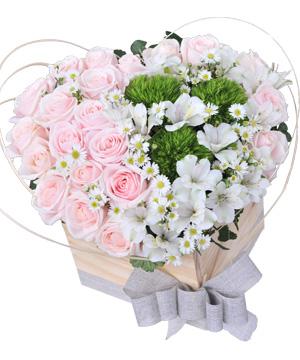Trái tim yêu thương hoa sinh nhật