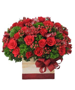 Gót hồng hoa sinh nhật