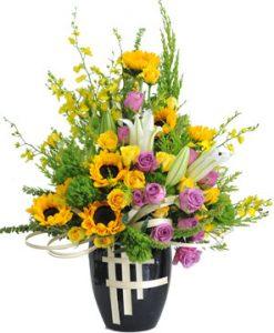 Thầm kín hoa sinh nhật