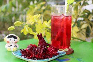 Công dụng thanh nhiệt giải độc của hoa atiso đỏ
