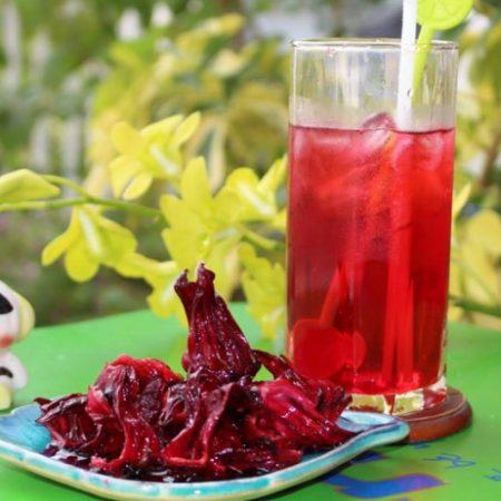 Công dụng thần kì của hoa atiso đỏ ( Hibiscus )