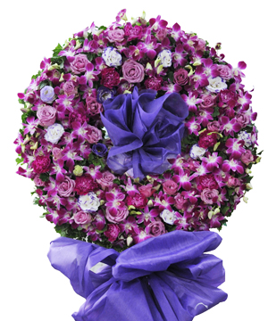 chia ly hoa tang lễ