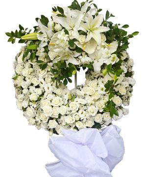 ru đời vòng hoa tang lễ
