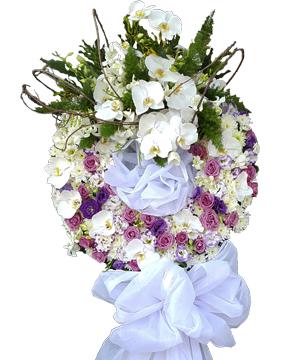 tiễn ly vòng hoa chia buồn