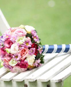 Hoa cưới ngày vui
