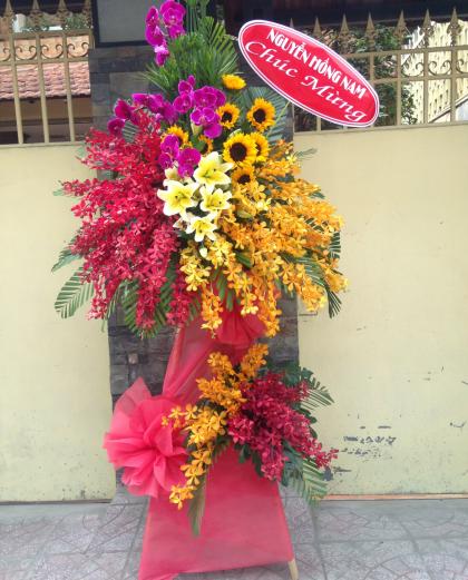 Hoa chúc mừng phú quý về