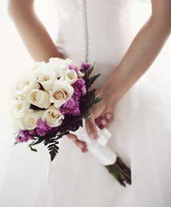 Hoa cưới đẹp đôi uyên ương
