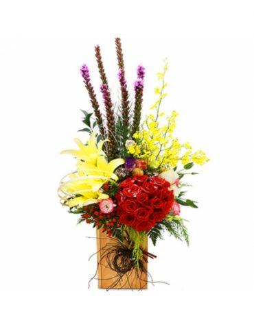 Phước lộc thọ hoa chúc mừng