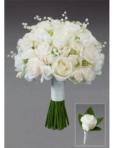 Hoa cưới đẹp nắm tay nhau