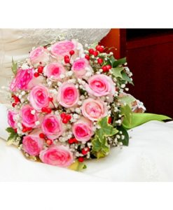 Hoa cam tay co dau một lòng
