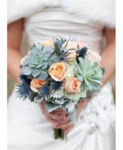 Hoa cưới vừa đôi