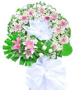 bó hoa chia buồn