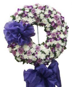 bông hoa chia buồn.