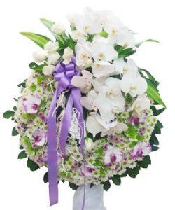 hoa tang chia buồn