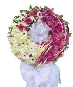 những mẫu hoa chia buồn đẹp đang thịnh hành