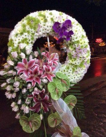 ai về hoa chia buồn hoa tang lễ