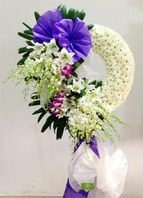 Hoa chia buồn hoa tang lễ về cội
