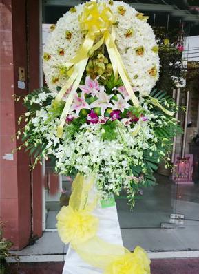 hoa chia buồn 001 hoa tang lễ đất mẹ