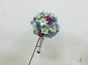 Cách bó hoa cưới cẩm tú cầu